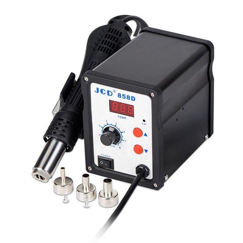HORI BK-858D SMD Brushless Heat G#un Hot Air Rework Soldering Station 700W 220V EU Plug