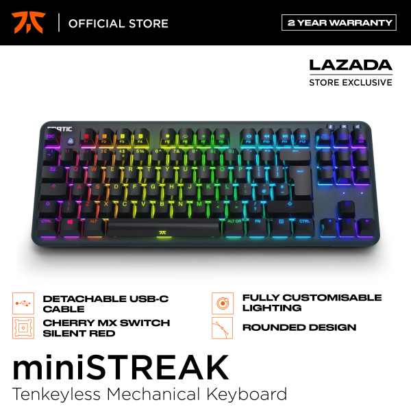 Fnatic miniSTREAK RGB Tenkeyless Mechanical Keyboard