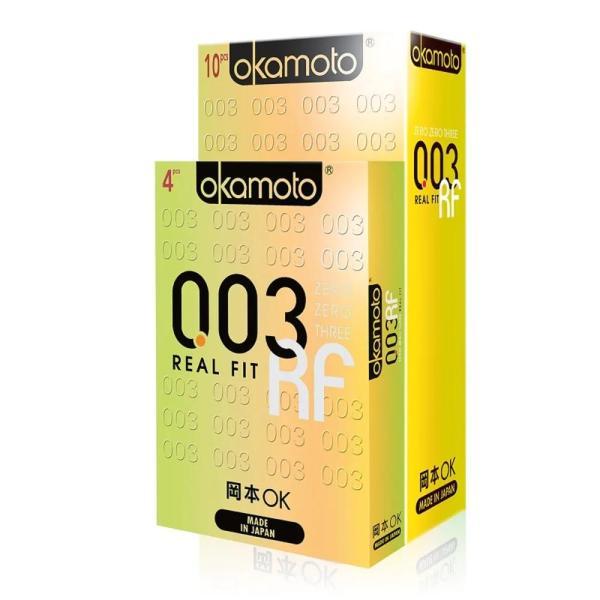 Buy OKAMOTO 003 Realfit Condoms 10 Pieces + 4 Pieces Bundle Pack Singapore