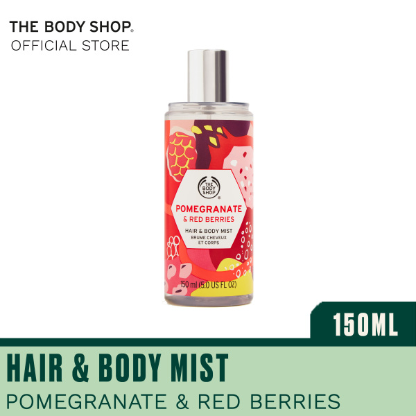 Buy The Body Shop Pink Pomegranate & Red Berries Hair & Body Mist (150ML) Singapore