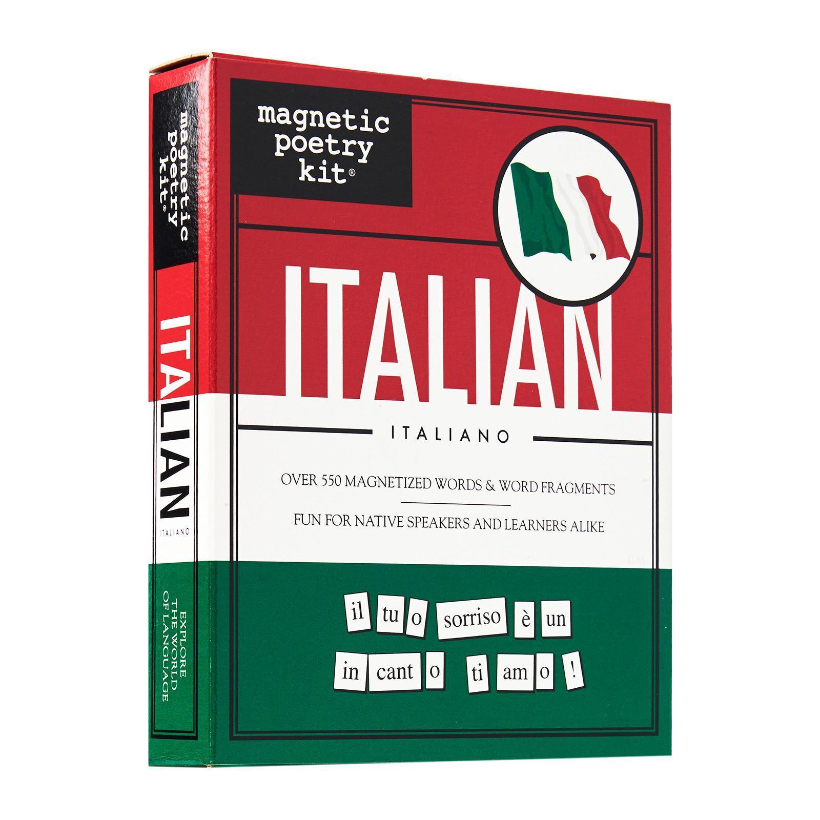 Magnetic Poetry Italian