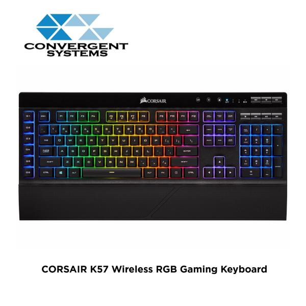 CORSAIR K57 RGB SLIPSTREAM WIRELESS Gaming Keyboard Singapore