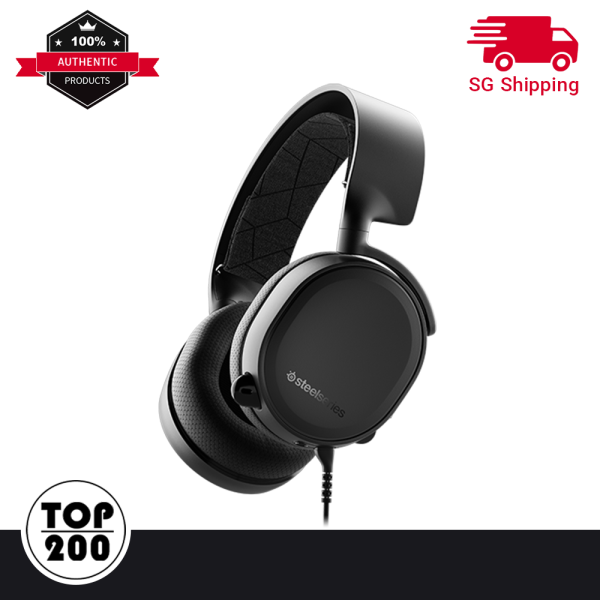 [Free Delivery/Ready Local Stocks] SteelSeries Arctis 7 2019 Wireless Gaming Headset with Microphone - Losless 2.4G with DTS Headphone:X 7.1 Surround - PC, PlayStation 4 PS4, VR, Mac, Xbox One, Android and iOS
