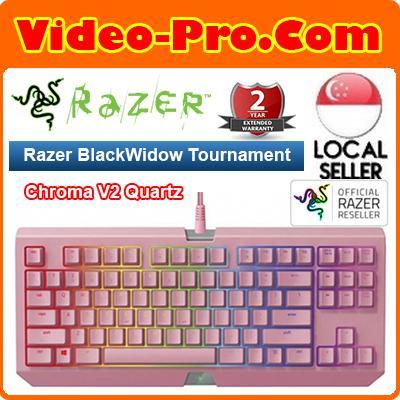 Razer BlackWidow Tournament Edition Chroma V2 Quartz Edition – Mechanical Gaming Keyboard Singapore