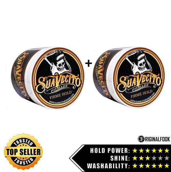 Buy Suavecito Firm Hold Strong Hold Pomade 4oz X2 Bundle - ORIGINALFOOK Singapore