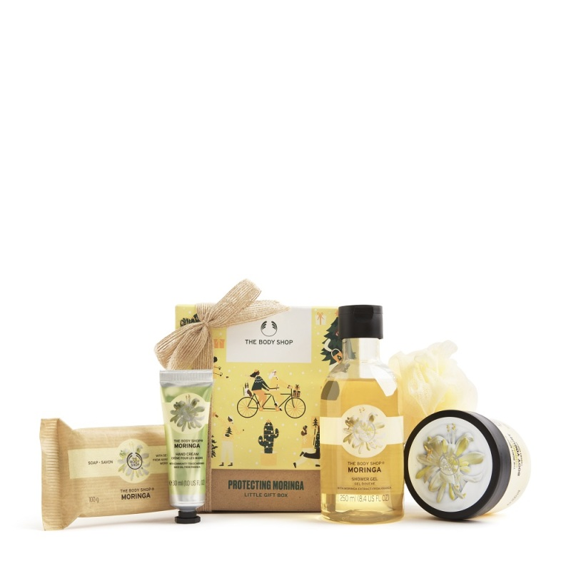 Buy The Body Shop Protecting Moringa Little Gift Box (Christmas Gift Set) Singapore