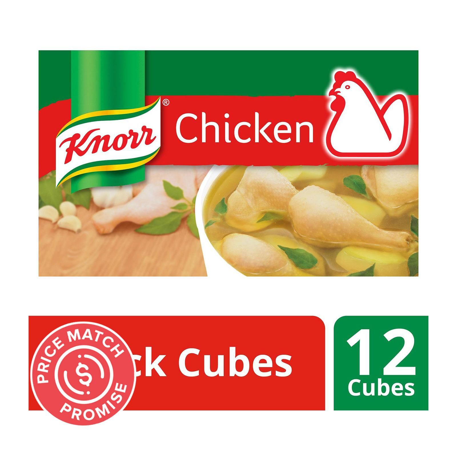 KNORR Stock Cubes - Chicken 120g