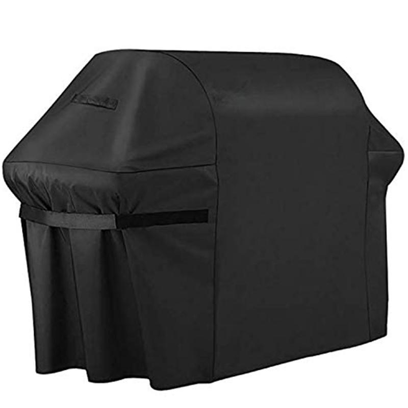 BBQ Cover Outdoor BBQ Cover 600D Oxford Cloth Waterproof Weather Gas Grill Cover (58 X 24 X 48 Inches)