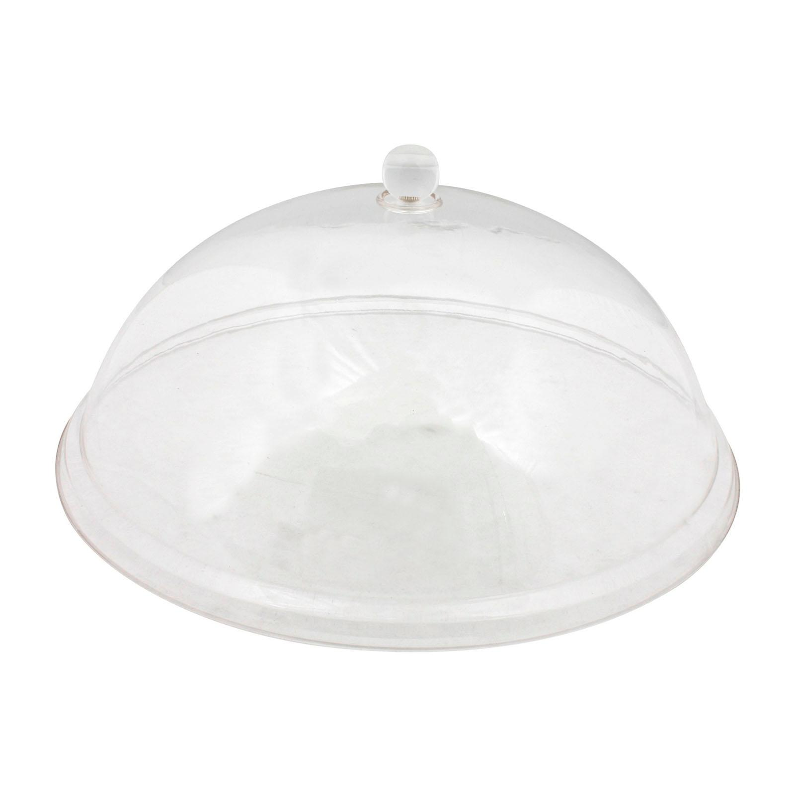 ToTT Clear Polycarbonate Round Dome Cover - 34 CM - By ToTT