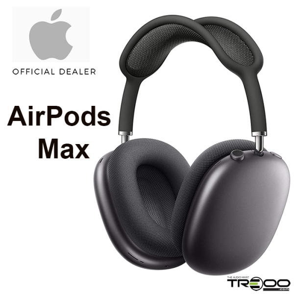 Apple AirPods Max Wireless Bluetooth Active Noise-Cancelling Over-the-Ear Headphone with Mic - Space Grey Singapore