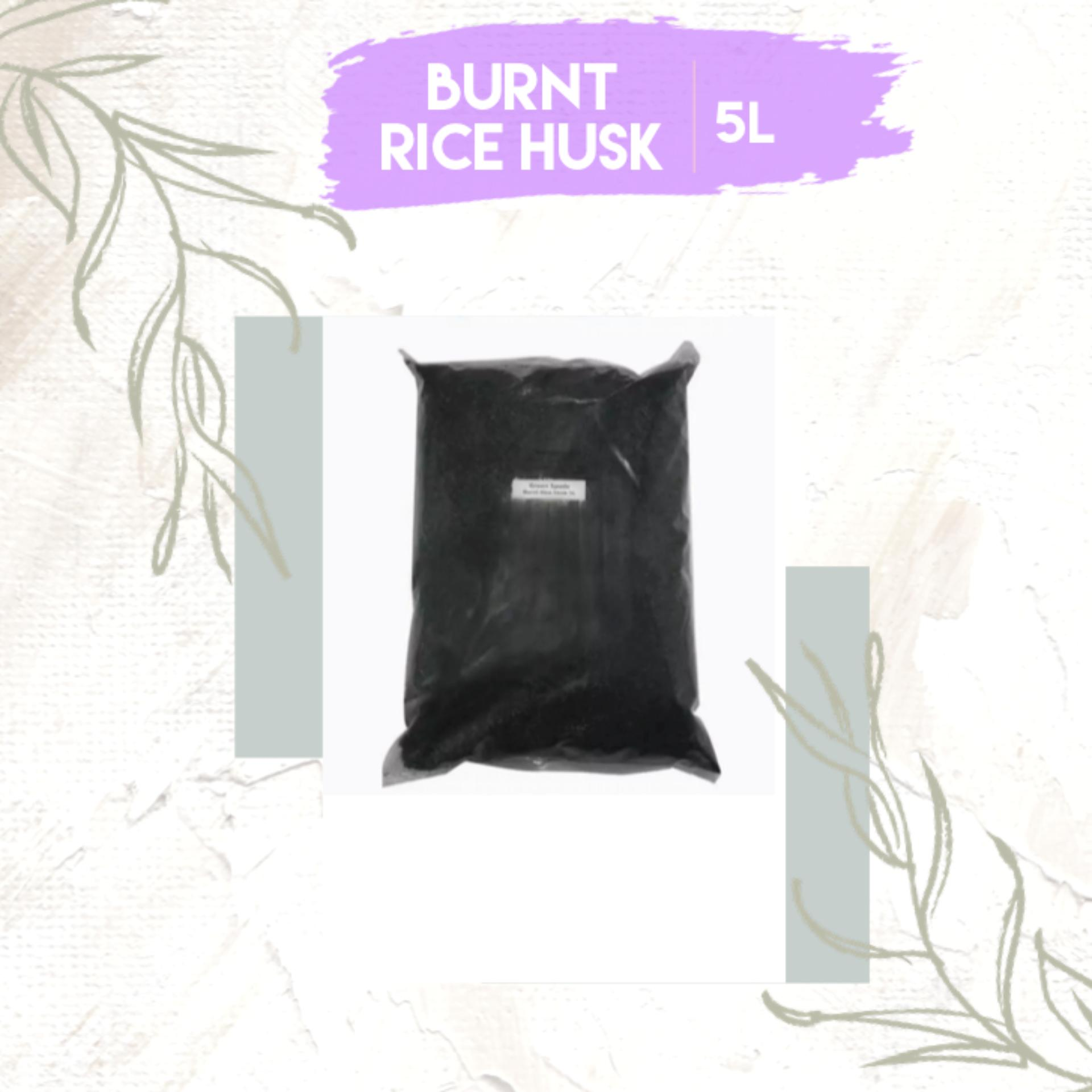 Green Spade Burnt Rice Husk 5-Litres (Planting Substrates)