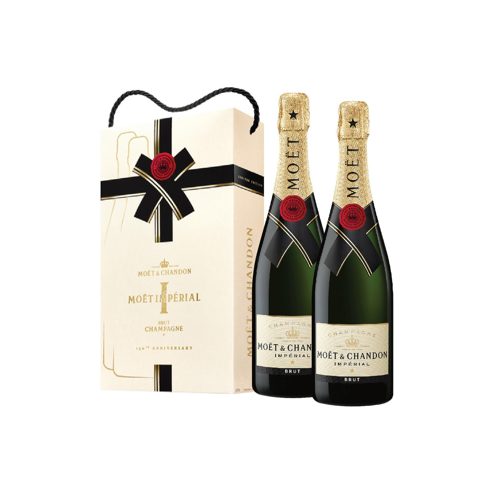 Moet & Chandon Brut Imperial Champagne - Twin Pack