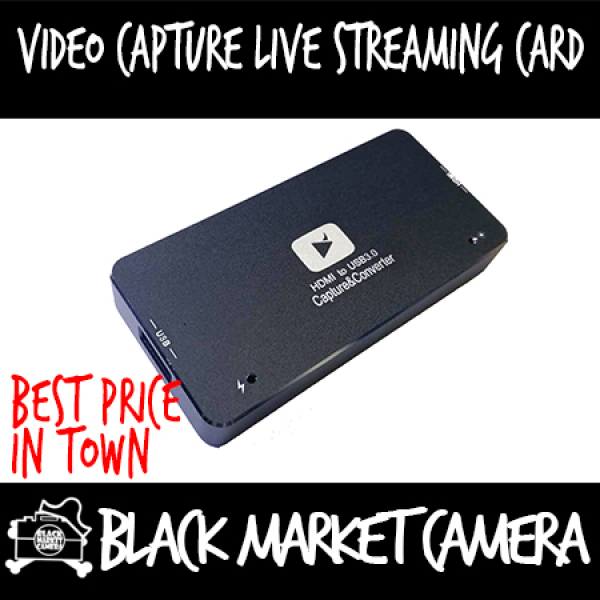 [BMC] HDMI in to USB 3.0 Out converter/Video capture live streaming card