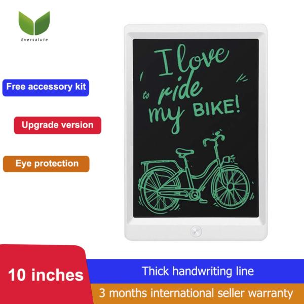 [Christmas gifts for kids , kids toy] Eversalute LCD Writing Tablet, 10 Inch Upgrade Version Portable Electronic Writing Drawing Board Doodle Pads for Kids and Adults, Digital Handwriting Notepad Use for School, Home and Office