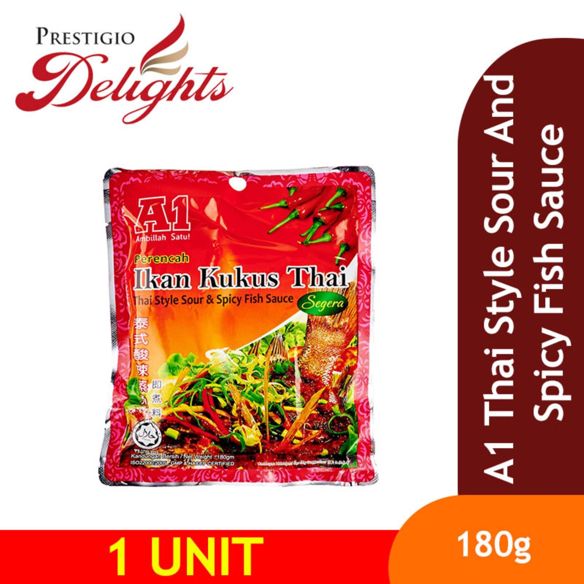 A1 Thai Style Sour & Spicy Fish Sauce 180 By Prestigio Delights.