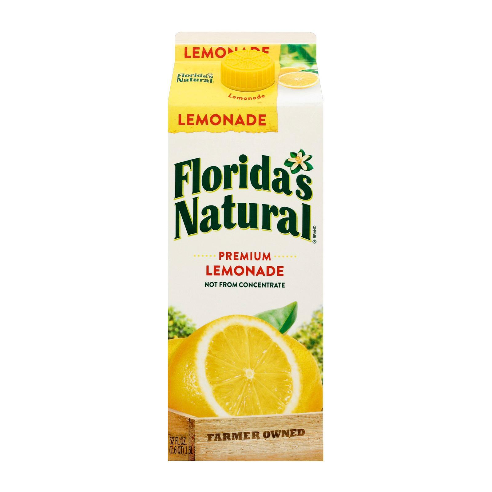 Florida's Natural NFC Lemonade