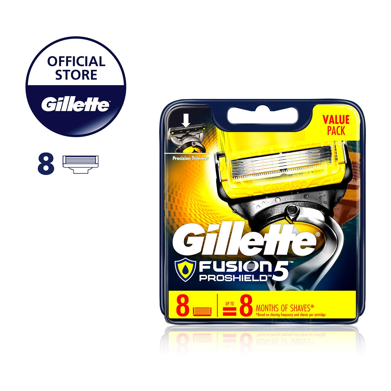 Gillette Fusion Proshield Razor Cartridges Refill