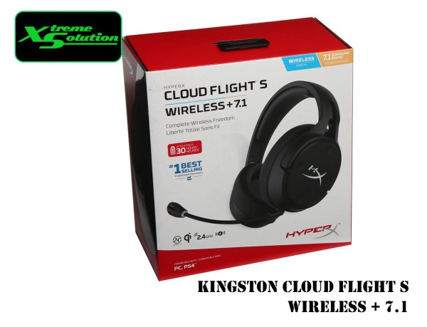 Kingston Cloud Flight S Wireless + 7.1 Gaming Headset