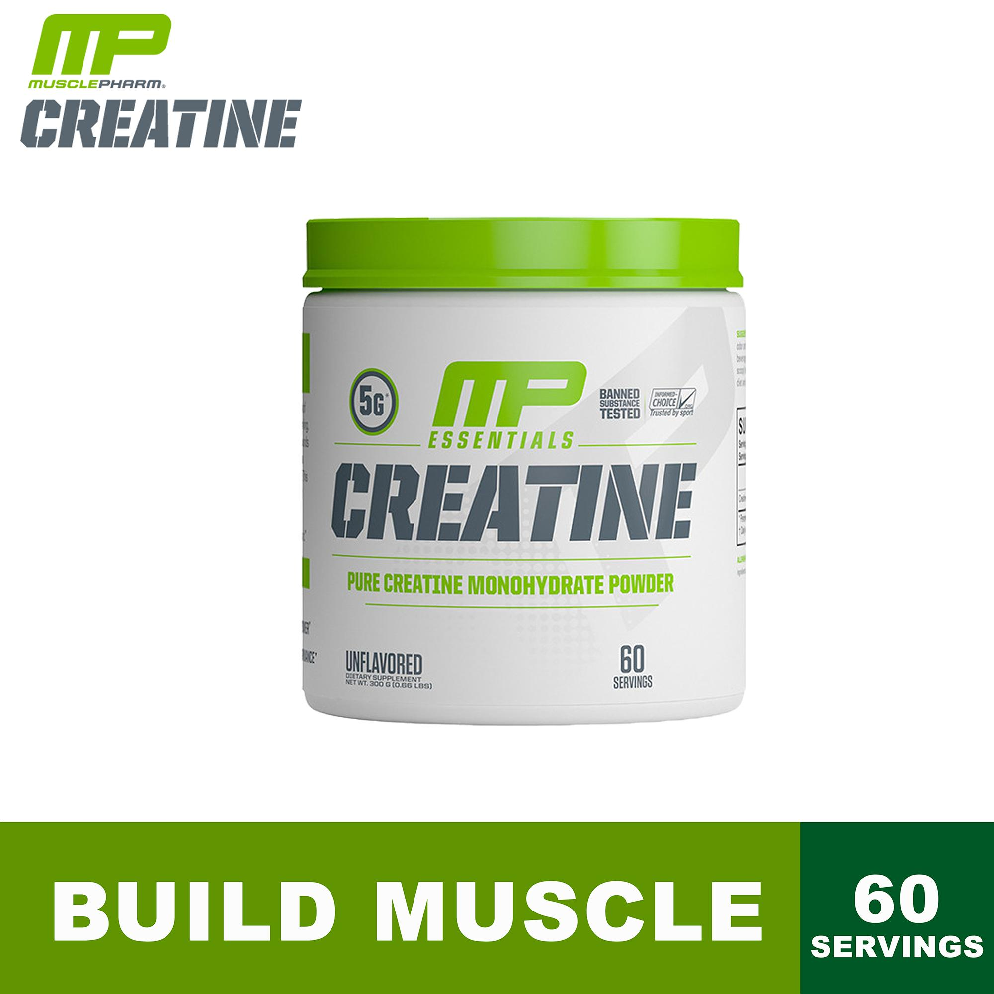 Musclepharm, Essentials Series, Pure Creatine, 60 Servings, 300g By Hna.
