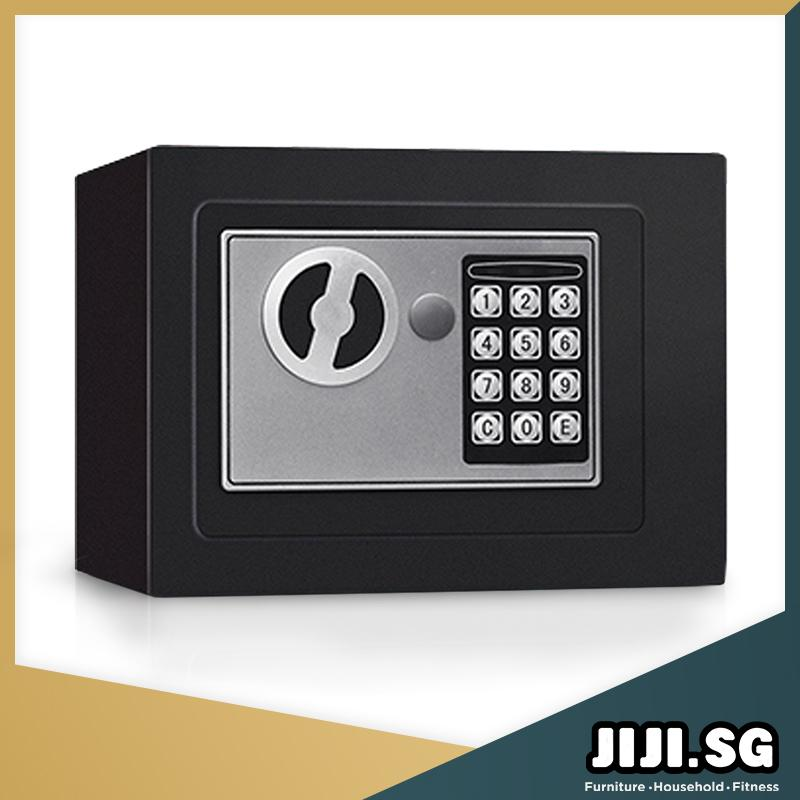 (JIJI SG) Home Safety Box (Security Safes) - Digital Safe Box/ Security Password / Cheapest (SG)