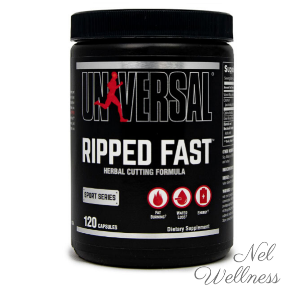 Buy Universal Nutrition Ripped Fast 120 Capsules Fat Burner Metabolism Weight Management Aid Singapore