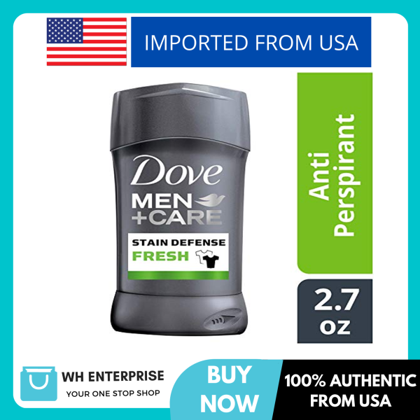 Buy Dove Men+Care Stain Defense Antiperspirant Deodorant Stick, Fresh, 2.7 oz Singapore