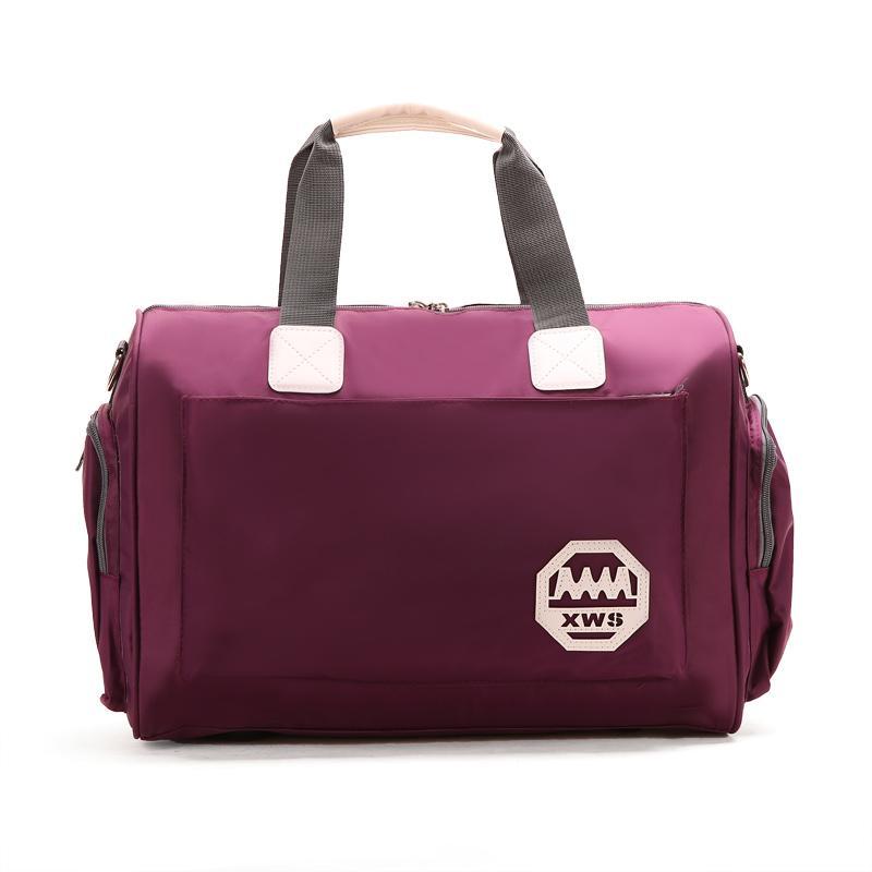 Korean-style Large Capacity Travel Bag Handheld Traveling Bag Light Simple Fashion Man Small Luggage Bag Womens Short Trip Travel Fitness