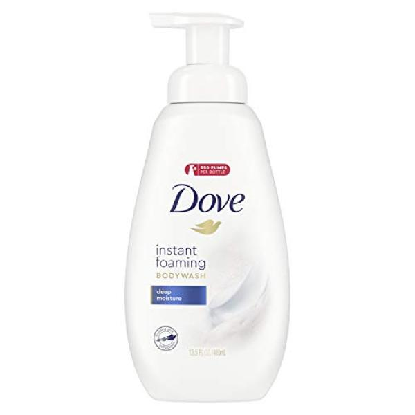 Buy (USA)Dove Shower Foam Body Wash with NutriumMoisture Technology Deep Moisture Moisturizing Bodywash for Hydrated Skin 13.5 oz Singapore