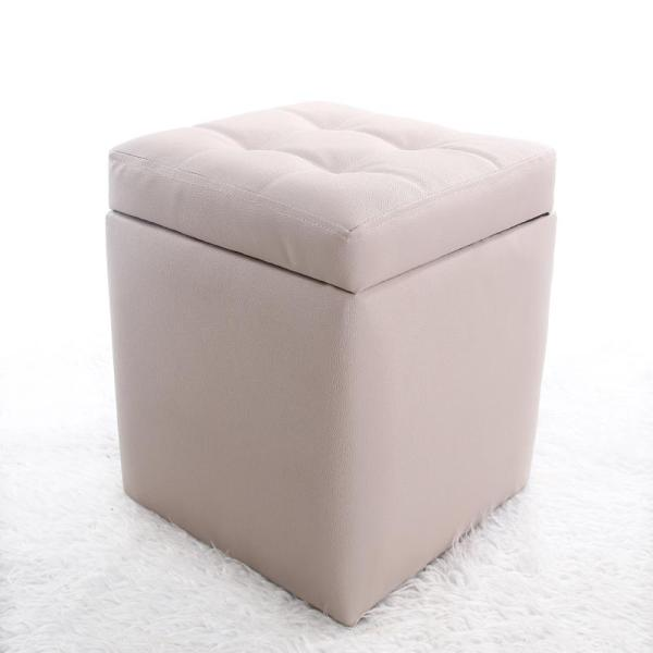 Storage Stool Storage Chair Can Sit Adult Household Skin Bench Bed End Stool Piano Bench Sofa Stool hua zhuang deng Stool