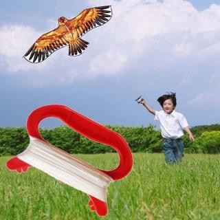 Đồ Chơi Trẻ Em Mùa Xuân MINIS, Cánh Diều Tay Cầm Màu Đỏ Dụng Cụ Bay, Diều Nhựa Thả Diều Cuộn Chỉ Phụ Kiện Diều Dây Diều thumbnail
