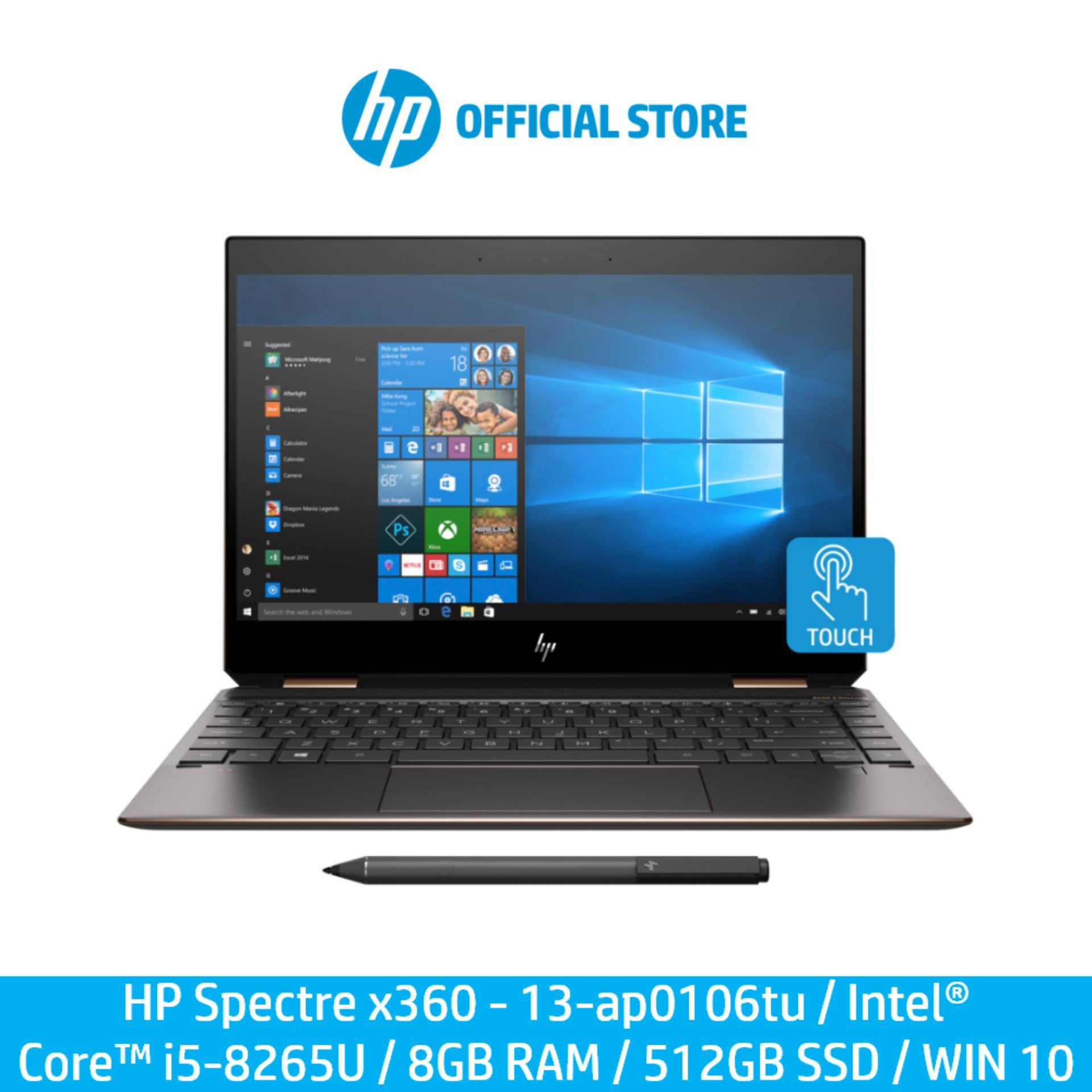 HP Spectre x360 - 13-ap0106tu / Intel® Core™ i5-8265U / 8GB RAM / 512GB SSD / WIN 10