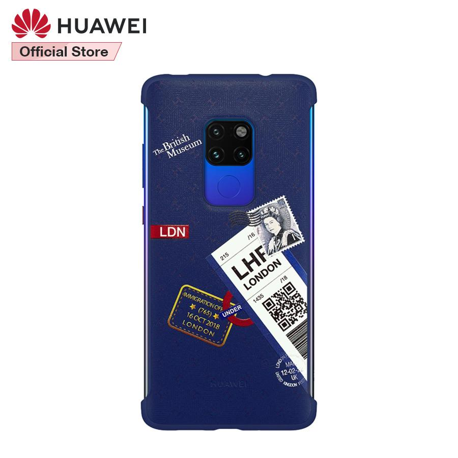 Original Huawei Mate 20 Travel Theme Case Back Cover