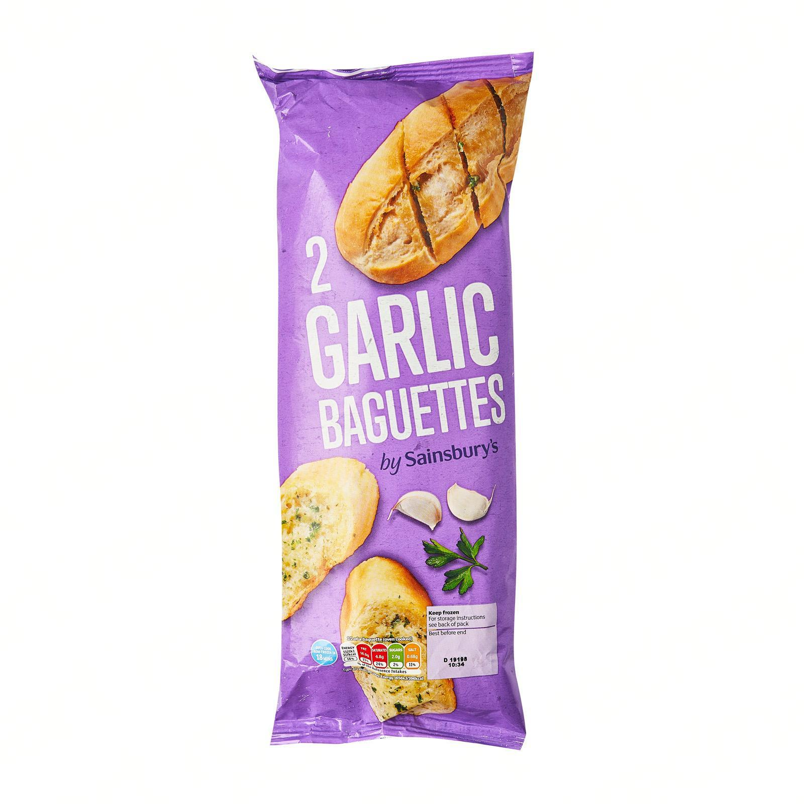Sainsbury's Garlic Baguette - Frozen
