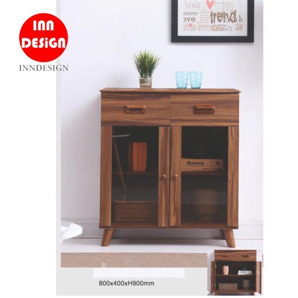 Geren Buffet Hutch/ Bookcase /Bookshelf / Chest of Drawer (Free Installation)
