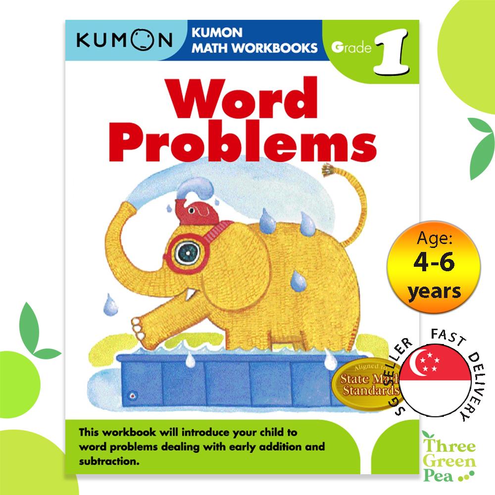 Kumon Math Workbooks Grade 1 WORD PROBLEMS