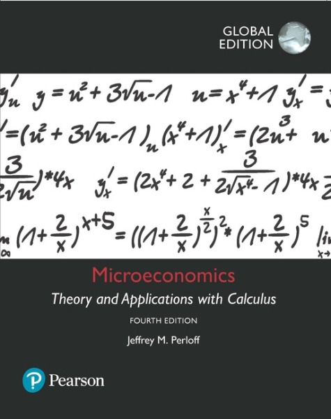 Microeconomics: Theory and Applications with Calculus, Global Edition   Edition 4   9781292154466   eBook of 9781292154459   Access code