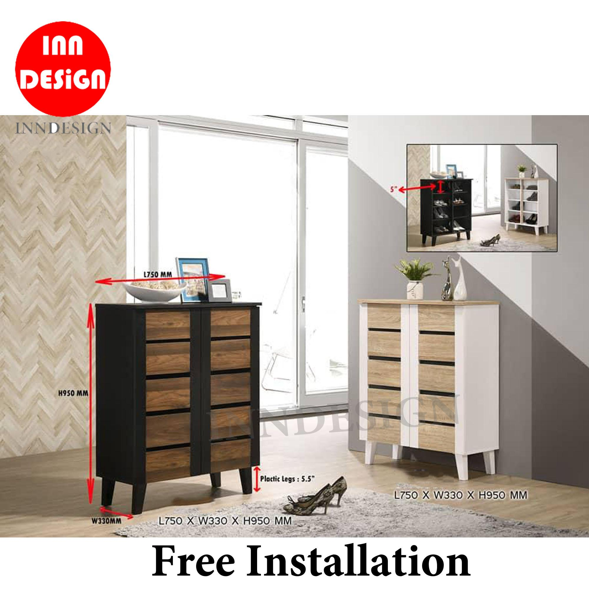 [NEW ARRIVAL] JENNY Shoe Cabinet (Free Delivery and Installation)