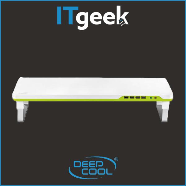 DEEPCOOL M-DESK F1 Grey Monitor Stand with USB 2.0 Hub