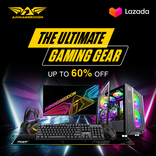 Unplugged Bundle - WIRELESS Mechanical Gaming Keyboard and WIRELESS Gaming Mouse Combo MKA-17 Avenger + Foxbat III  [Armaggeddon 10th Anniversary X Lazada 11.11 Exclusive] Singapore