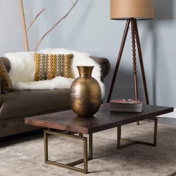 [PRE-ORDER] PORTER Herringbone Solid Wood Coffee Table