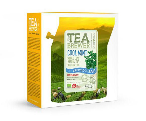 Growers Cup Organic Tea - Cool Mint (box Of 7pcs) By Gain Brands International.