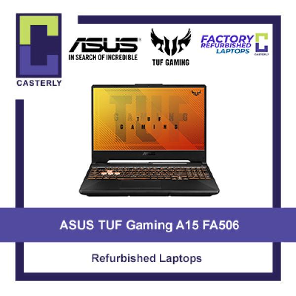 [Refurbished ASUS TUF Gaming A15 FA506 / Ryzen 7 - 4800H / 16GB Ram / 512GB SSD / GTX 1660 Ti / Windows 10