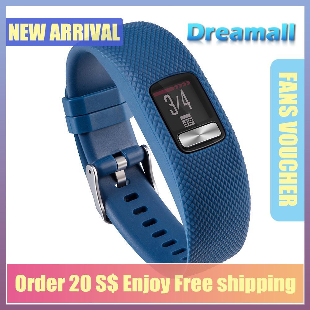 {hot Sale Festival}dreamall Replacement Silicone Wrist Band Bracelet Strap For Vivofit 4 Watch(black).