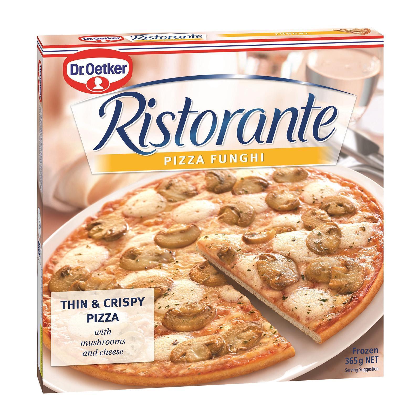 Dr Oetker Ristorante Funghi Pizza - Frozen
