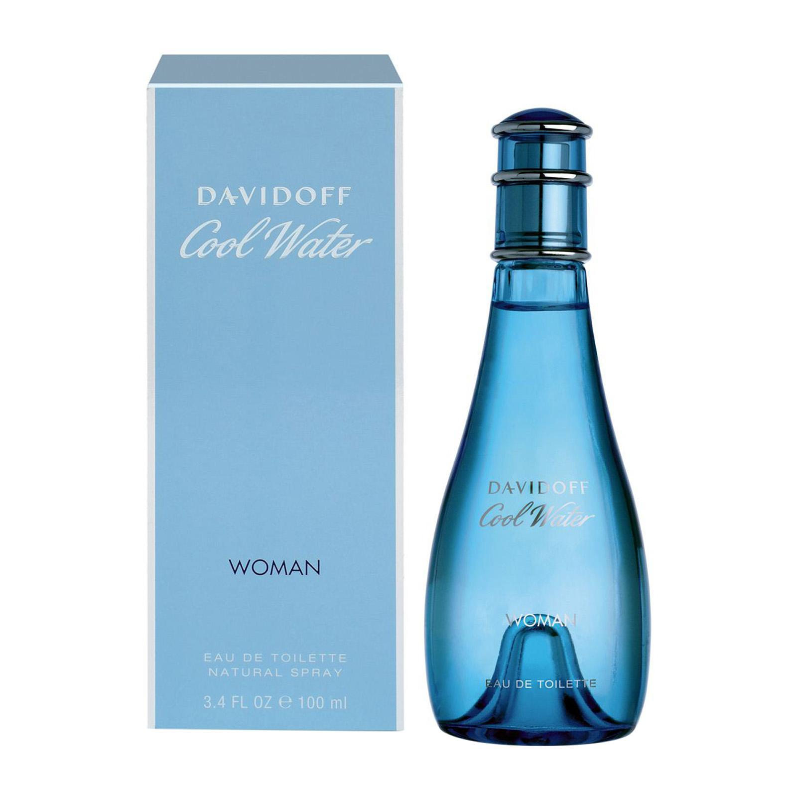Davidoff Cool Water For Women Eau De Toilette Perfume Fragrance Spray - By BEAULUXLAB
