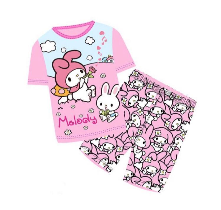 d6b0f1c82 [Eddalabz] My Melody Short Sleeve Pajamas Set - 1 to 7 Years Old