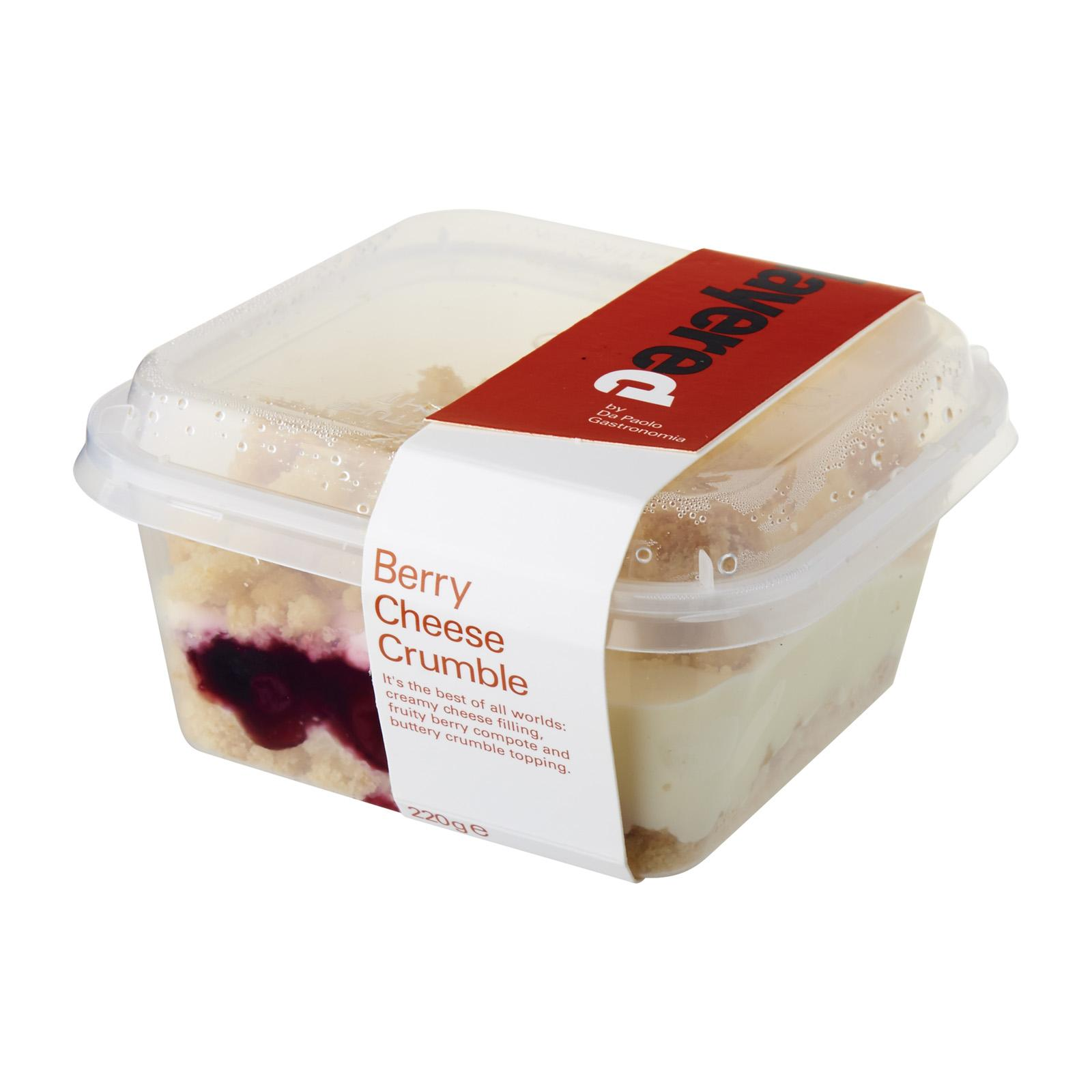 Da Paolo Berry Cheese Crumble Fresh By Redmart.