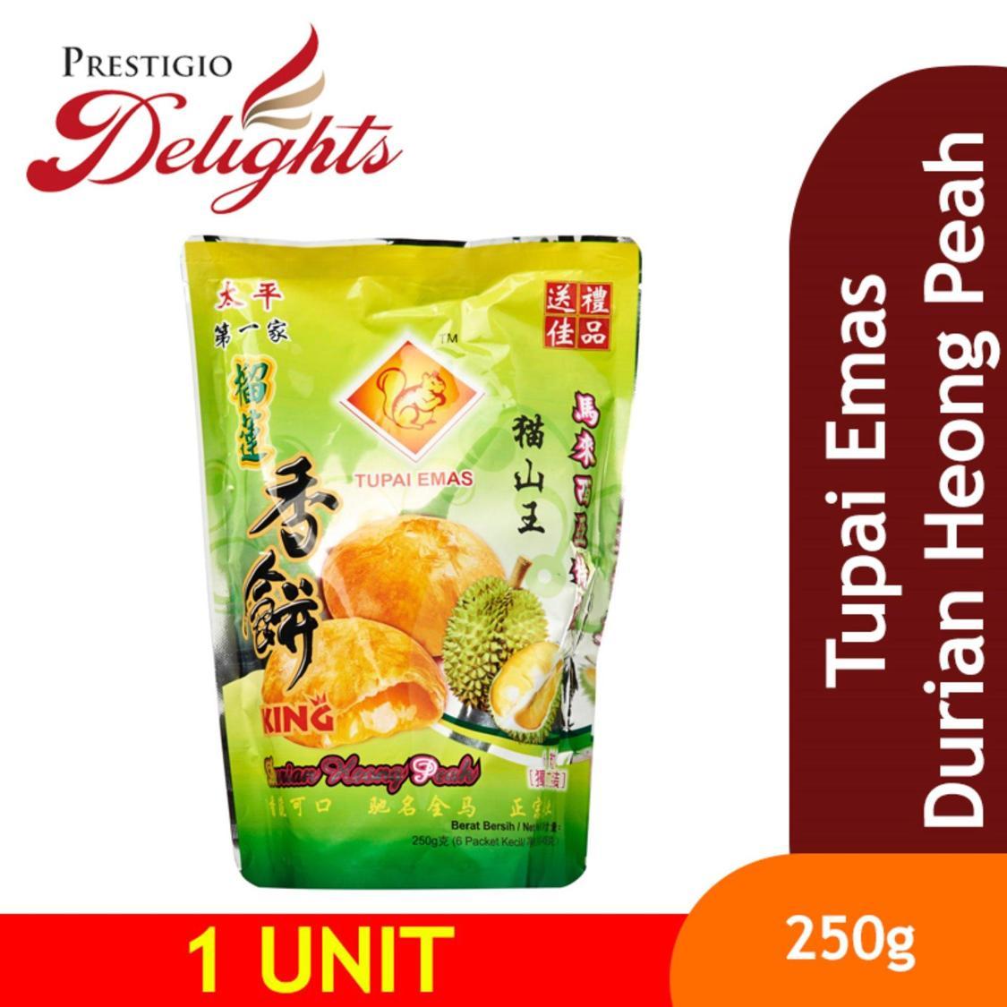 Tupai Emas Durian Heong Peah By Prestigio Delights.