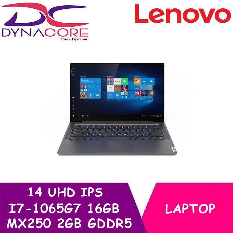 DYNACORE - LENOVO S740 14IIL 81RS0013SB  14.0 UHD IPS 500Nites / I7-1065G7 /16GB  LDDR4 /1TB PCIE SSD / MX250 2GB GDDR5 / NO ODD / WIN 10