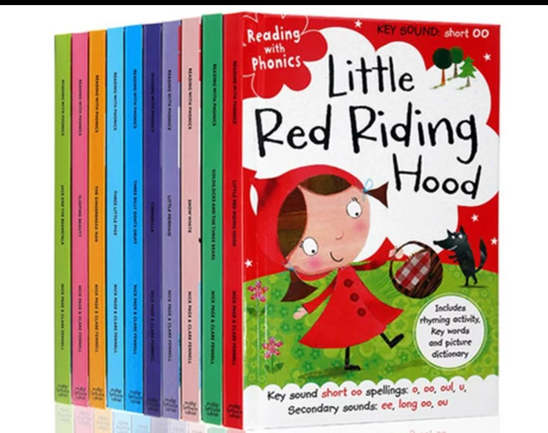 Phonics Fairy Tales Story Books/Children/Preschooler Education books